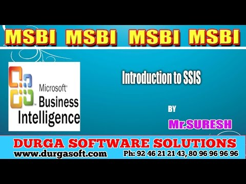 MSBI || Introduction to SSIS