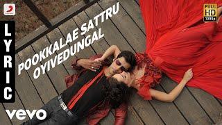 I - Pookkalae Sattru Oyivedungal Lyric | A.R. Rahman | Vikram | Shankar