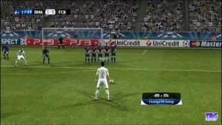 PES 2012 - Real Madrid Vs Barcelona (5-2) on Super Star Level - Winning UEFA Champions League!