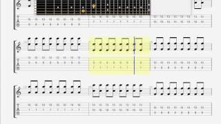 Children Of Bodom   Downfall GUITAR 1 TAB