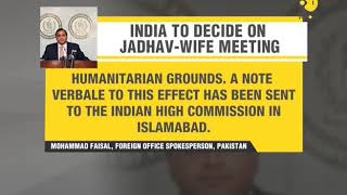 India to decide on Jadhav-wife meeting