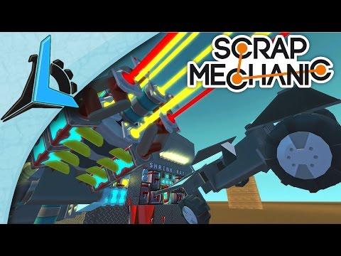 Scrap Mechanic Tiny Cube Transformer Plus Shrink Ray