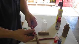 Rocket Lamp construction