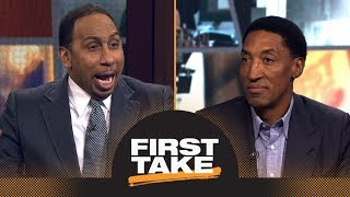 Scottie Pippen says LeBron James has surpassed Michael Jordan 'in many ways' | First Take | ESPN