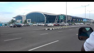 Trivandrum New Airport (One of the best Airport in India)