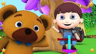 Jack Be Nimble | Kindergarten Nursery Rhymes & Songs for Kids | Little Treehouse S03E120
