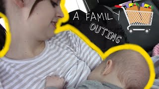GOING OUT WITH A BREASTFEEDING 4 MONTH OLD || TEEN MOM VLOG |LifeOfHope|
