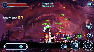Stickman Ghost 2: Galaxy Wars _ Kill Boss 5 failed
