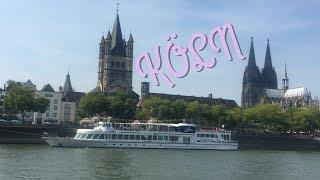 Schifffahrt Rhein / Gologne  / Gemi turu Köln de