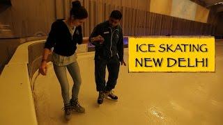 Ice Skating || New Delhi