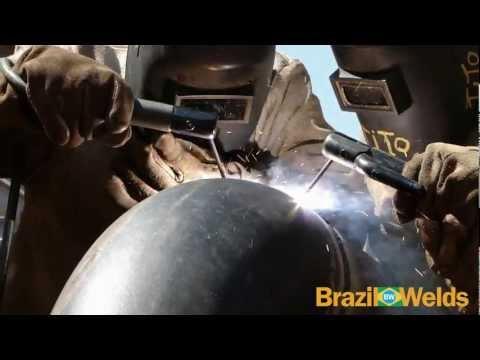 Solda com Eletrodo Revestido Acabamento Tubulações