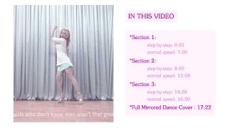 Miss A 'Only You' Full Mirrored Dance Tutorial by ChunActive