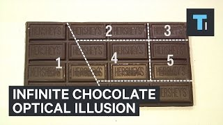 Viral Optical Illusion Creates Infinite Chocolate
