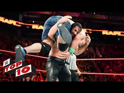 Xxx Mp4 Top 10 Raw Moments WWE Top 10 February 19 2018 3gp Sex