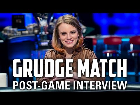 Post Grudge Match Interview with Cate Hall