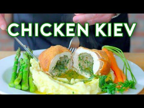 Binging with Babish Chicken Kiev from Mad Men