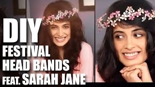 Download Mad Stuff With Rob - How To Make DIY Head Bands For Festivals Feat. Sarah Jane 3Gp Mp4