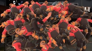 TF2: Entire Team is Engineer