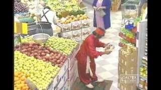 Morteza Aghili - Haji Firouz in the Market | کمدی - حاجی فیروز