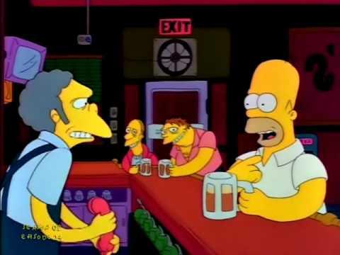 Bart Prank Calls Moe - Homer-Sexual