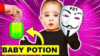 PROJECT ZORGO DRINKS BABY POTION | UNMASKING BABY PROJECT ZORGO MEMBER!!