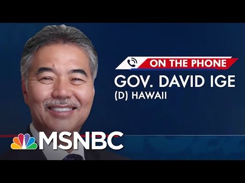 Hawaii Governor President Trump s Travel Ban Violated State Constitution The 11th Hour MSNBC