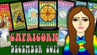 CAPRICORN DECEMBER 2017 Create your Future! Saturn-Capricorn Tarot psychic reading forecast