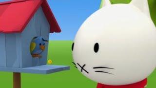 Мультфильмы про котенка - Котёнок Мусти - Сборник развивающих мультиков для малышей