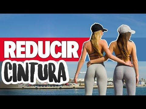 REDUCIR CINTURA 9 ejercicios rutina principiantes Lose inches off your waist