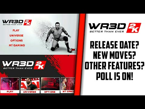 WR3D WWE MOD | WR3D 2K MOD V3 | WR3D NEW MOVES MOD | WR3D 2K MOD BY MT | MT GAMING WR3D
