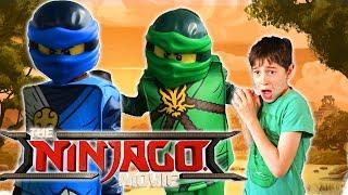 THE LEGO NINJAGO MOVIE - Fun Kids Parody