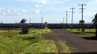 Train Pasting In The Distance [HD]