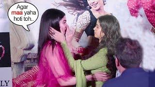 Jhanvi और Khushi कपूर फुट फुट कर रोये अपनी माँ श्रीदेवी को याद करते हुए धड़क ट्रेलर लांच पर