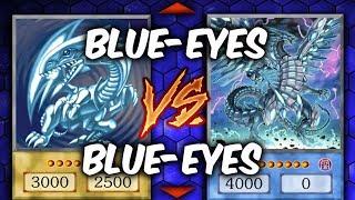 BLUE-EYES vs BLUE-EYES (Yu-gi-Oh Competitive Deck Duel)