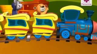 Engine, Engine Number Nine | 3D English Nursery Rhyme for Children | Periwinkle | Rhyme #59