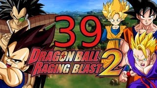 Let's fight Dragonball Raging Blast 2 Part 39 - Radditz & Vegeta vs Familie Goku