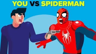 YOU vs Spider-Man - How Could You Defeat Him?
