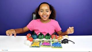 Cutting Open SUPER GROSS! SUPER STICKY! Splat Slime Stress Balls - Weird Fun Toys