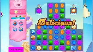 Candy Crush Saga Level 2828 28 moves NO BOOSTERS Cookie