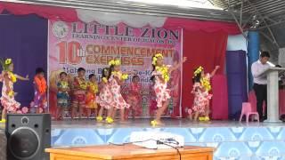 Little Zion Kindergarten Hawaiian Dance March 2015