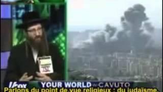 Yisroel Weiss a dit : Israël ne devrait même pas existé en tant qu'État !