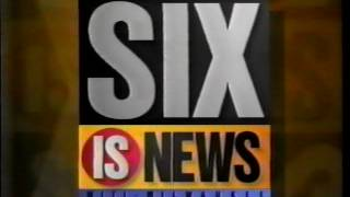 WITI - Fox is Six Six is News bumper [5 sec] (1995)