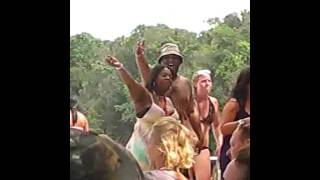 Sean shaking his ass in Jamaica