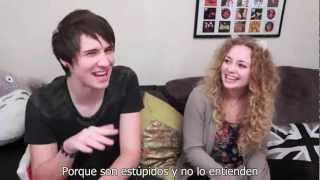 Men vs Women - Danisnotonfire y ItsWayPastMyBedTime Subtitulado en español