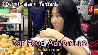 [EN/ES/KR] 🍽 Korean trying Indian street food in Tanzania!