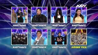 ASIA, VOTE NOW for Your Semi Finalists!   Asia's Got Talent 2017