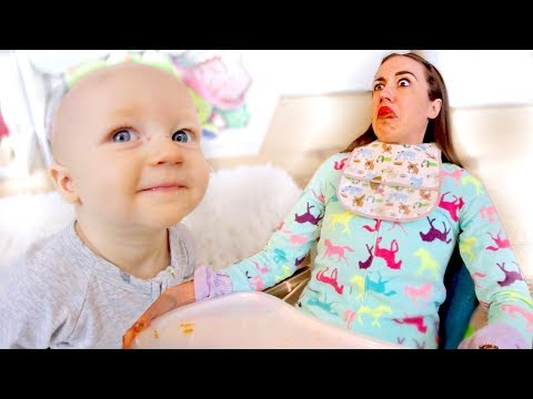 SWITCHING LIVES WITH A BABY FOR A WEEK!