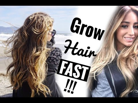 Grow Long Hair FAST (My Weird Trick) + My Hair Color