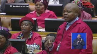 EFF Questions to Minister Bra Blade Nzimande