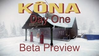 Kona: Day One - A Chilling Mystery / Exploration Game, Beta Preview (Gameplay / Walkthrough)
